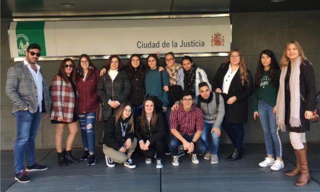 VISITA AL JUZGADO DE LO SOCIAL EN ALMERÍA