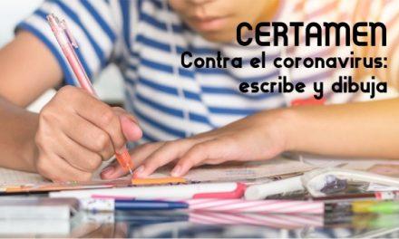 CERTAMEN «Contra el coronavirus: escribe y dibuja»