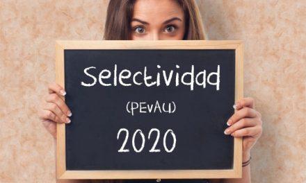 CAMBIO DE LUGAR DE REALIZACIÓN DE LOS EXÁMENES DE PEVAU (SELECTIVIDAD)