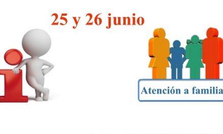 ATENCIÓN A FAMILIAS Y ALUMNADO