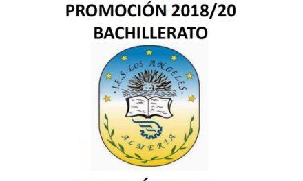 DESPEDIDA 2º BACHILLERATO