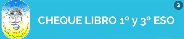 CHEQUE-LIBRO PARA 1º Y 3º ESO