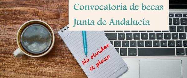 CONVOCATORIA DE BECAS ESPECÍFICAS DE LA JUNTA DE ANDALUCÍA