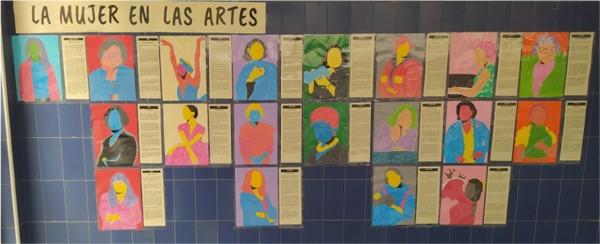 La mujer en las artes