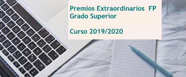 CONVOCATORIA PREMIOS EXTRAORDINARIOS FP